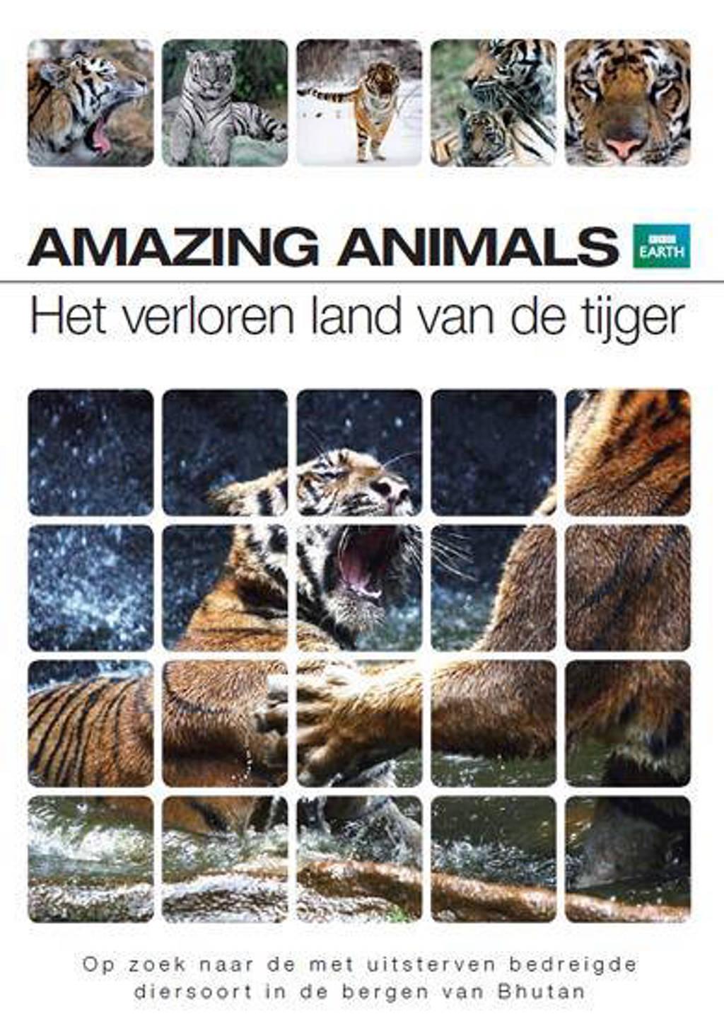 Amazing animals - Het verloren land van de tijger (DVD)