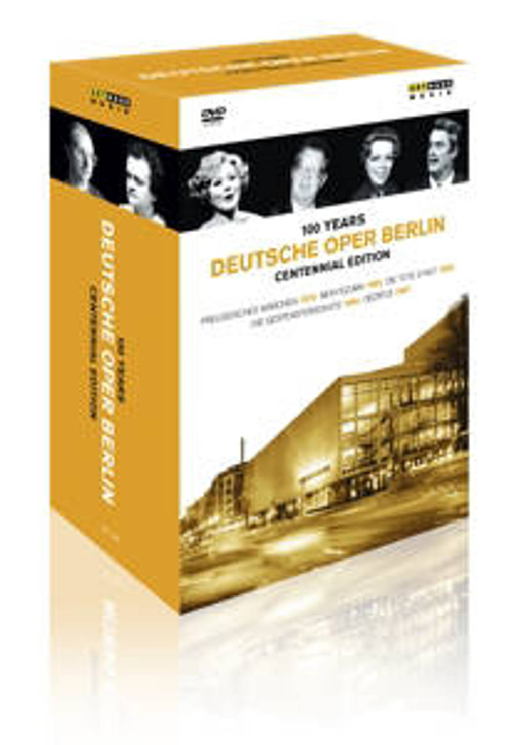 Otto,Sardi,Papadjiakou - 100 Jaar Deutsche Oper Berlin (DVD)