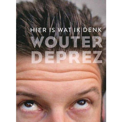 Wouter Deprez - Hier is wat ik denk (DVD) kopen