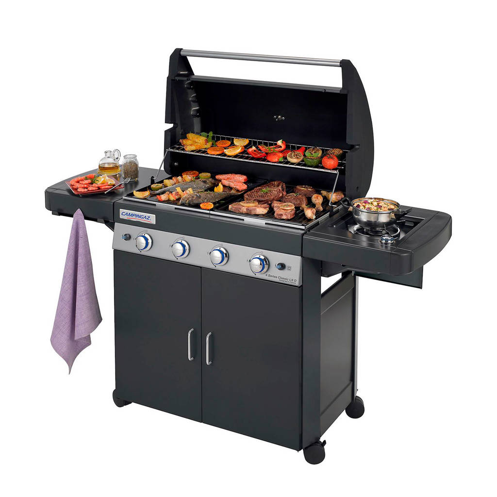 Campingaz 4 Series Classic LS gasbarbecue, 4 series Classic LS, Zwart