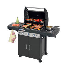 3 Series Classic LS gasbarbecue zwart
