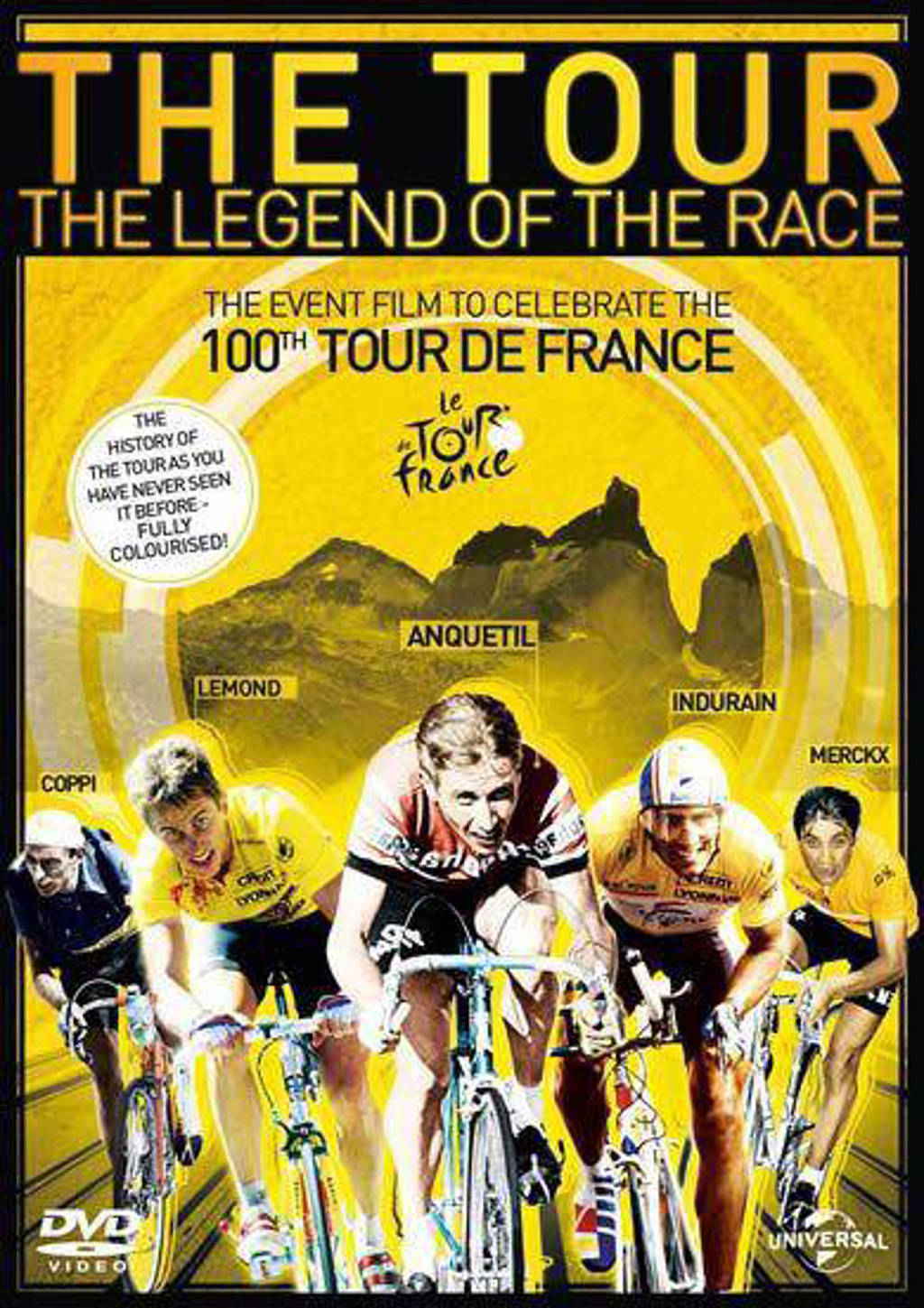 The Tour - The Legend of the Race (DVD)