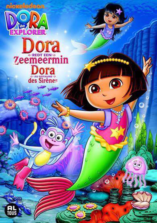 Dora - Redt een zeemeermin (DVD)