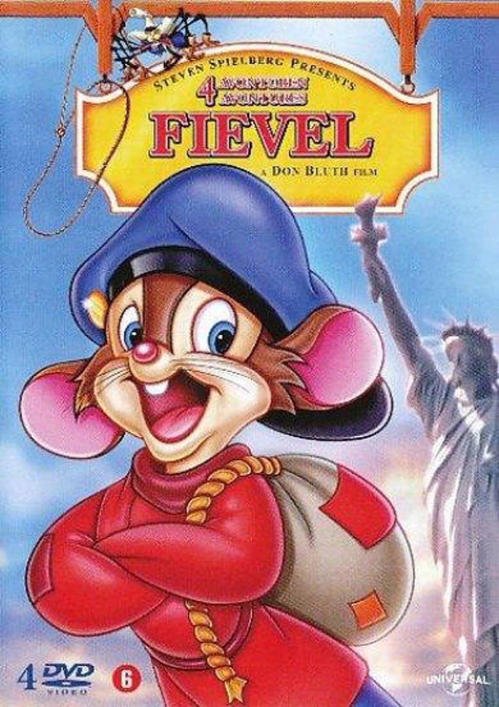 Fievel 1-4 (DVD)
