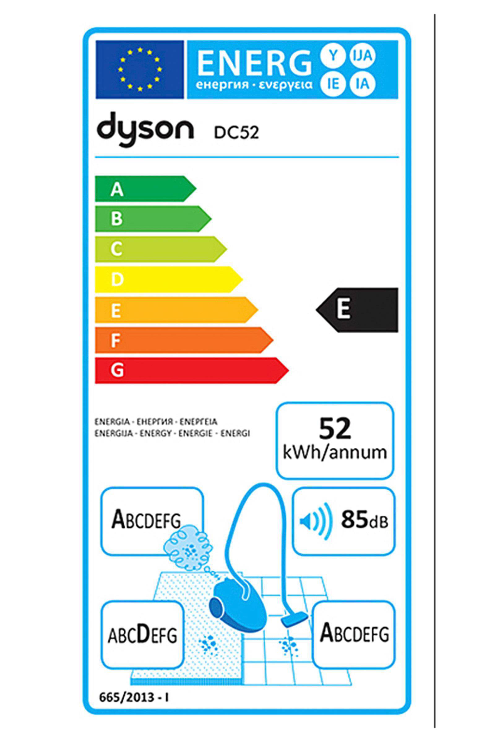 מסודר Dyson DC52 Allergy Pro Cinetic stofzakloze stofzuiger | wehkamp BV-72