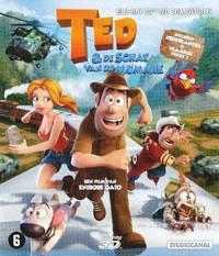 Ted en de schat van de mummie (2D+3D) (Blu-ray)
