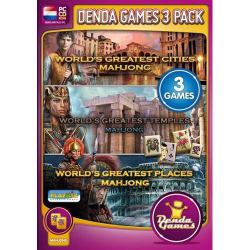 Mahjong 3 pack - Worlds greatest places (PC) kopen