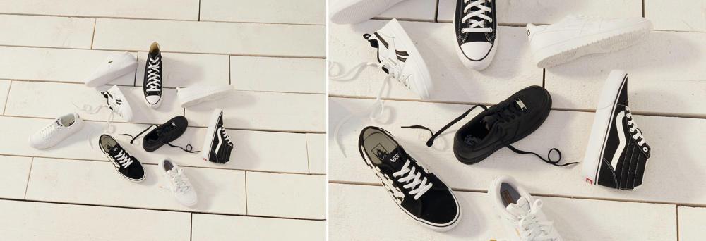 Sneakers zover je kan kijken!