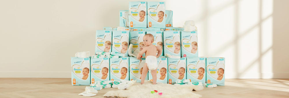 Pampers WHD stapelbeeld