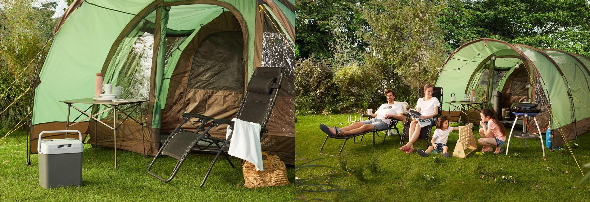 Top teaser - Camping shop