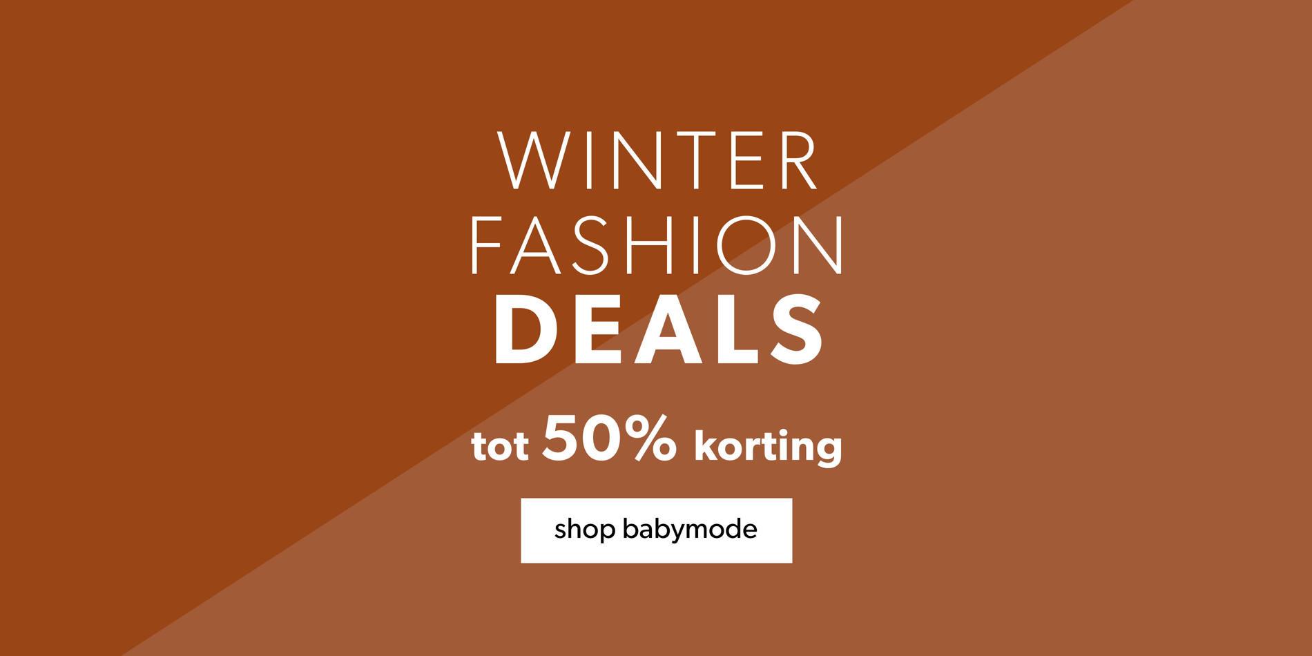Baby winter fashion deals