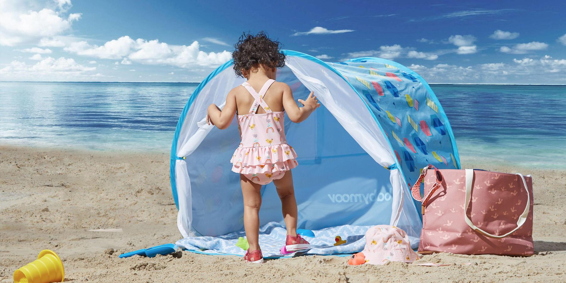 baby zomer strand