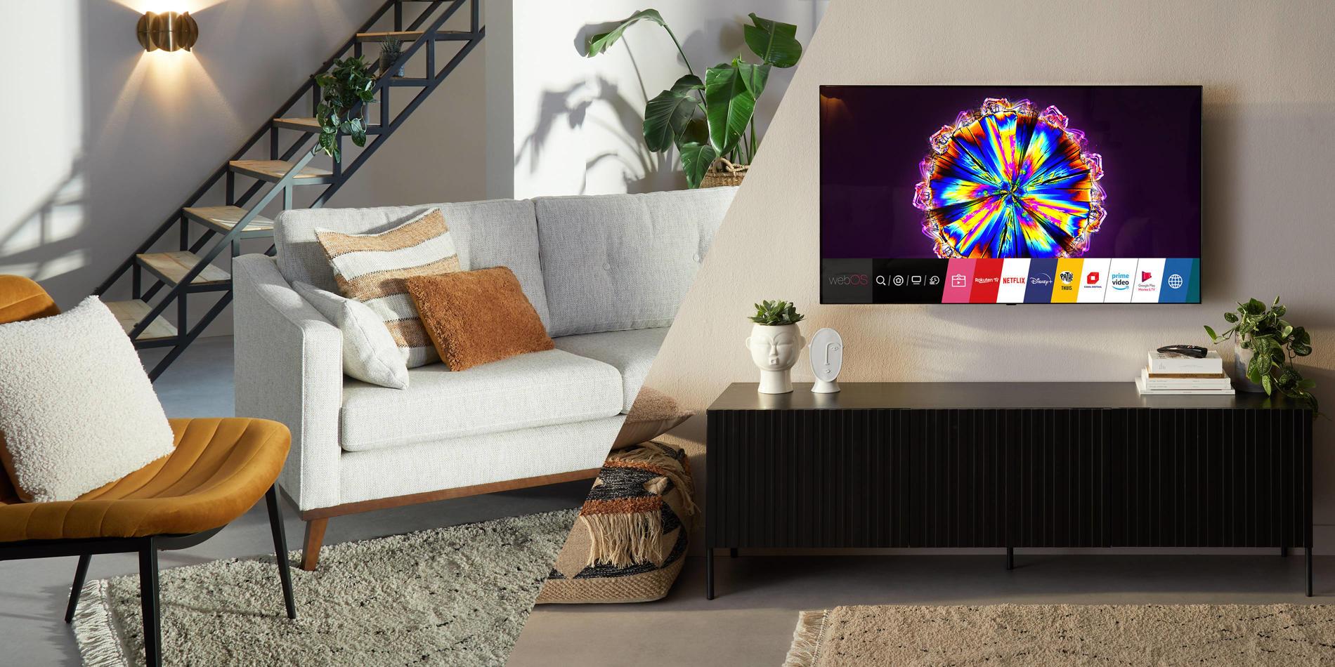 LG Oled en NanoCell tv's. Scherp geprijsde tv's die perfect in jouw huis passen