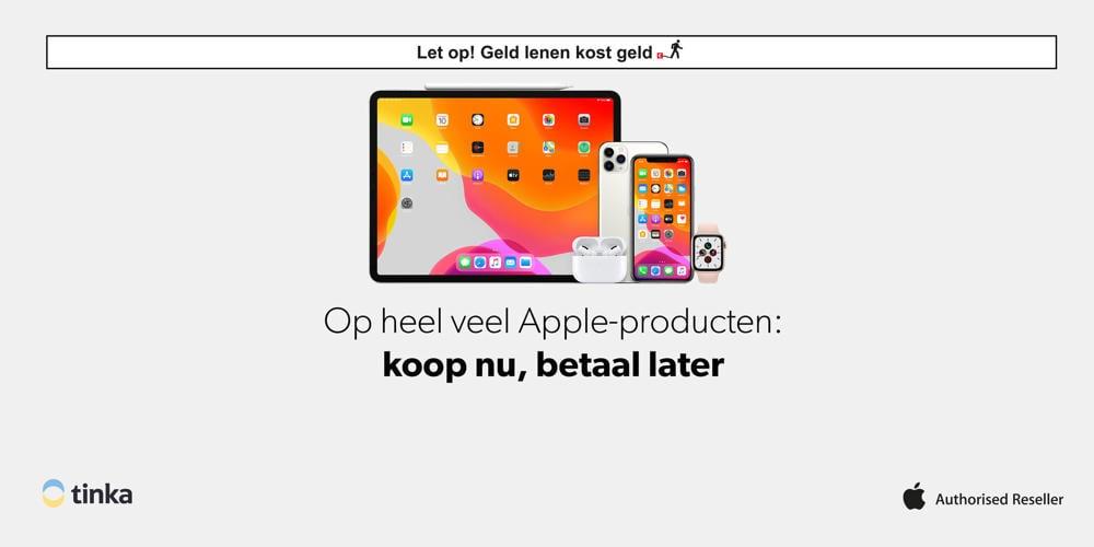 Apple koop nu betaal later