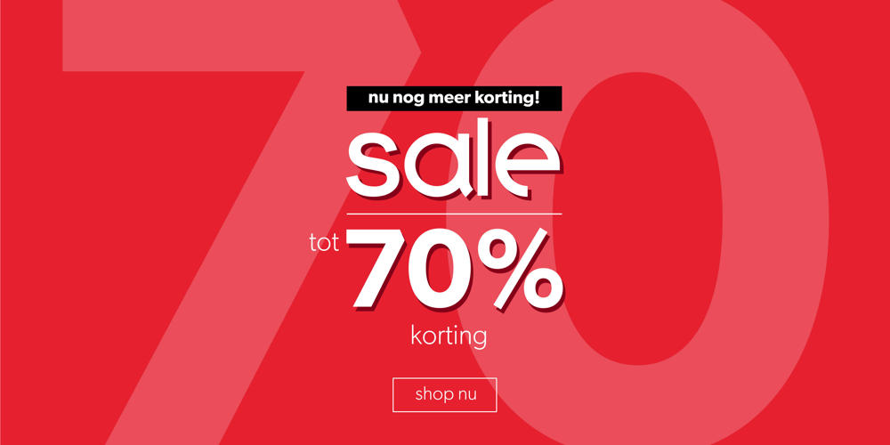 COP top teaser heren week 3 - tot 70% korting
