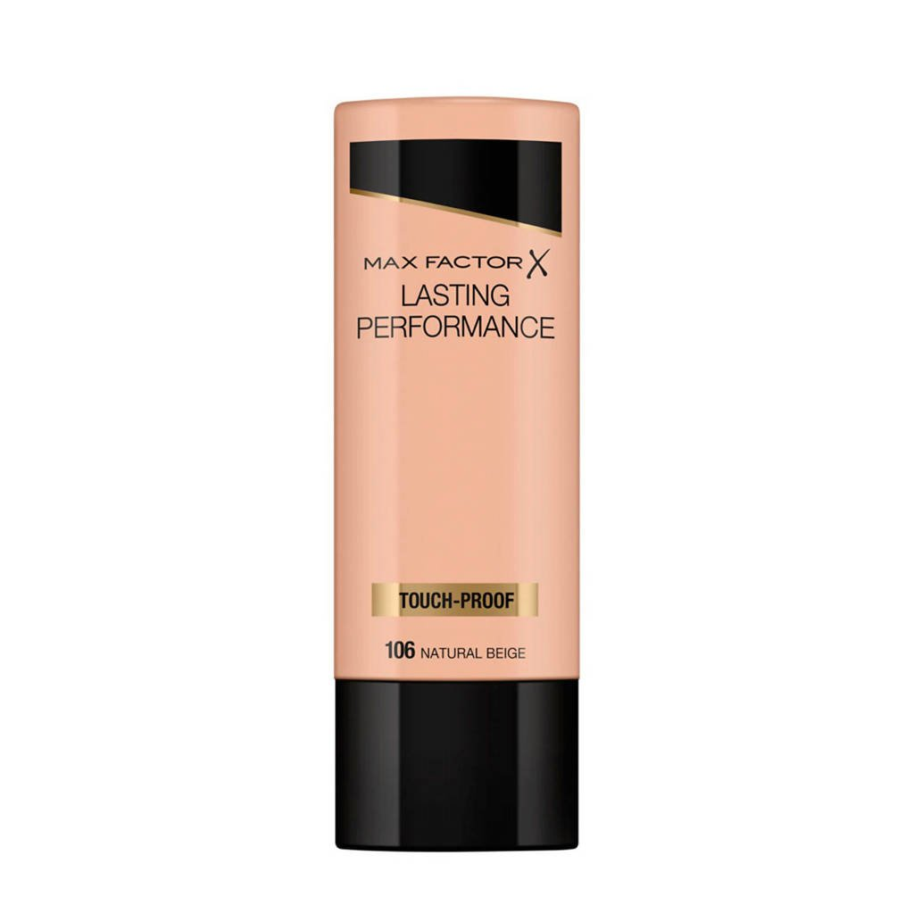 Max Factor Lasting Performance Liquid  106 Natural Beige Foundation