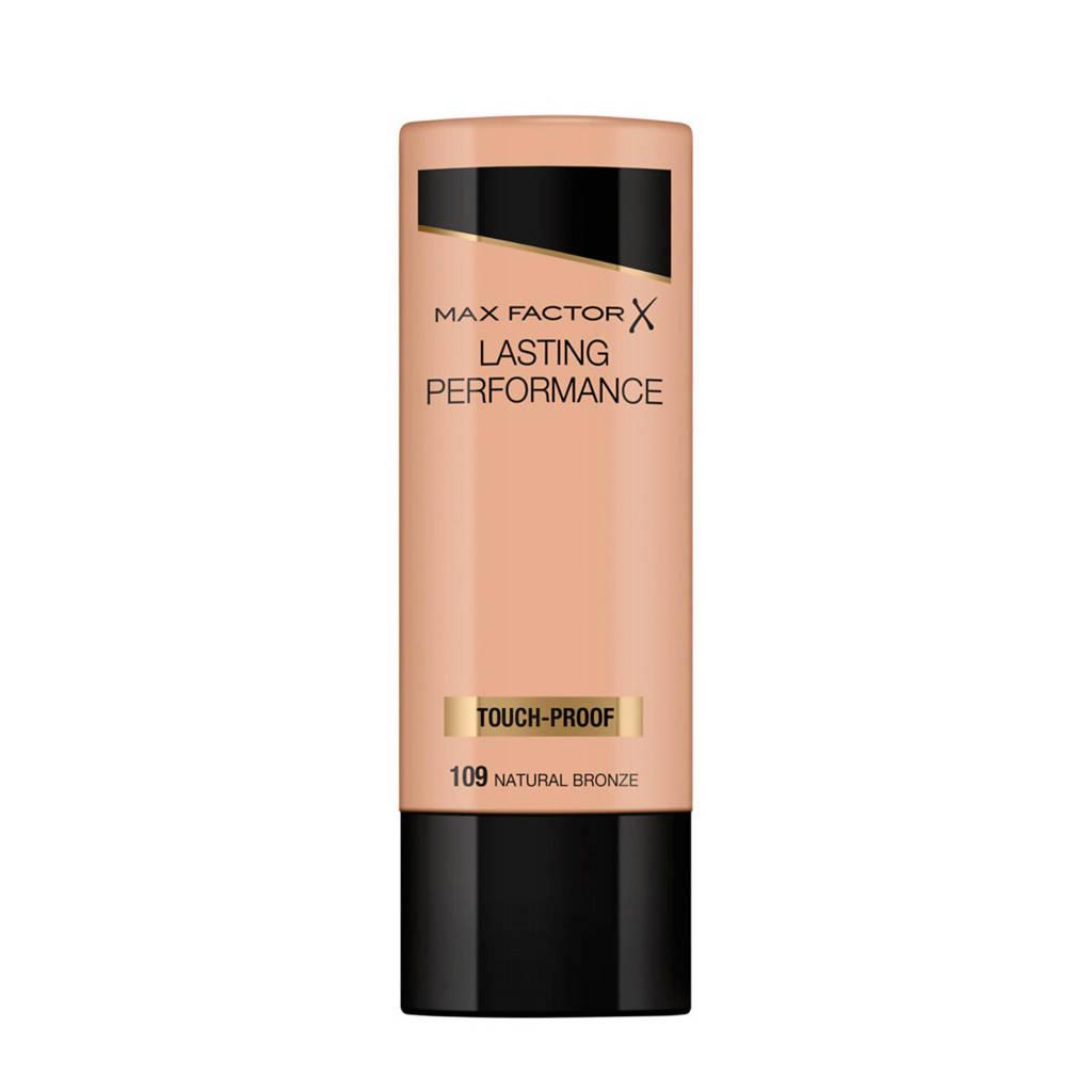 Max Factor Lasting Performance Liquid 109 Natural Bronze Foundation