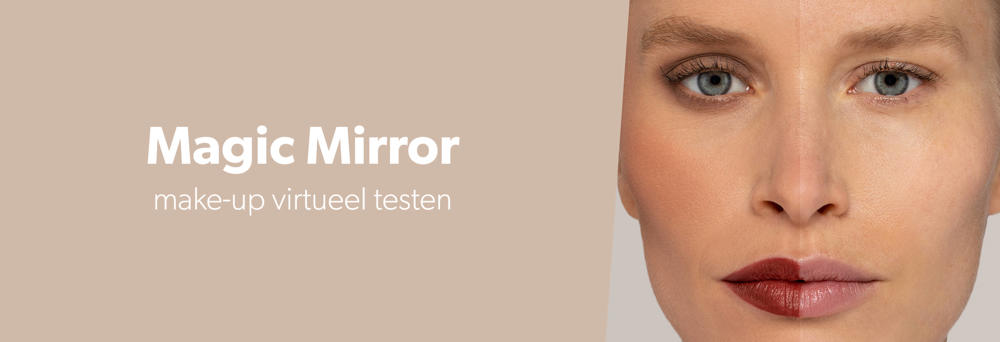 make-up virtueel testen in onze app