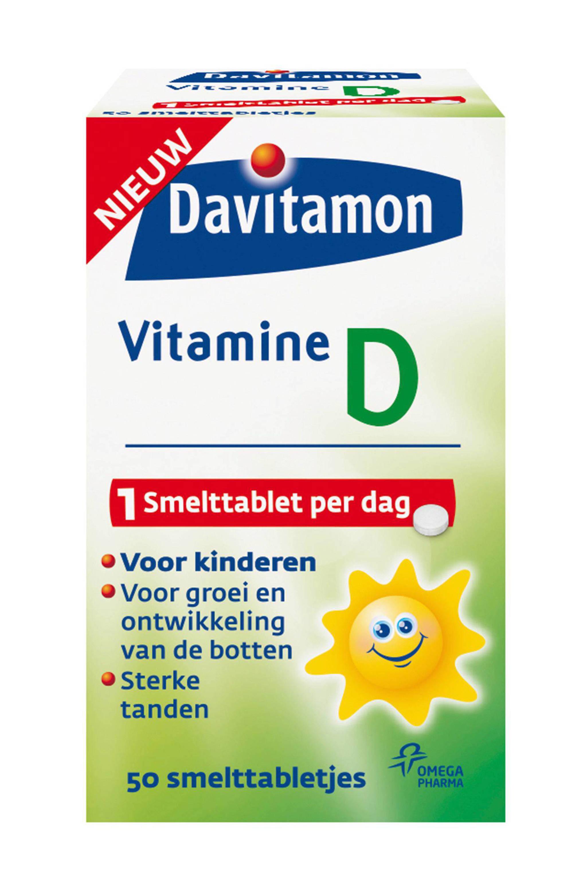 Davitamon Vitamine D Kinderen Smelttablet 50 Stuks Wehkamp