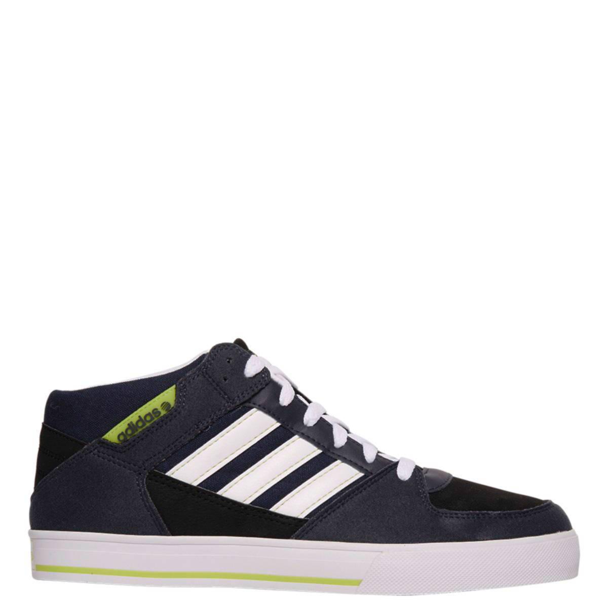 adidas neo leren sneakers | wehkamp