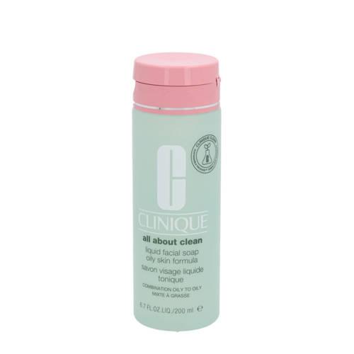Clinique Liquid Facial Soap Oily skin reinigingszeep 200 ml