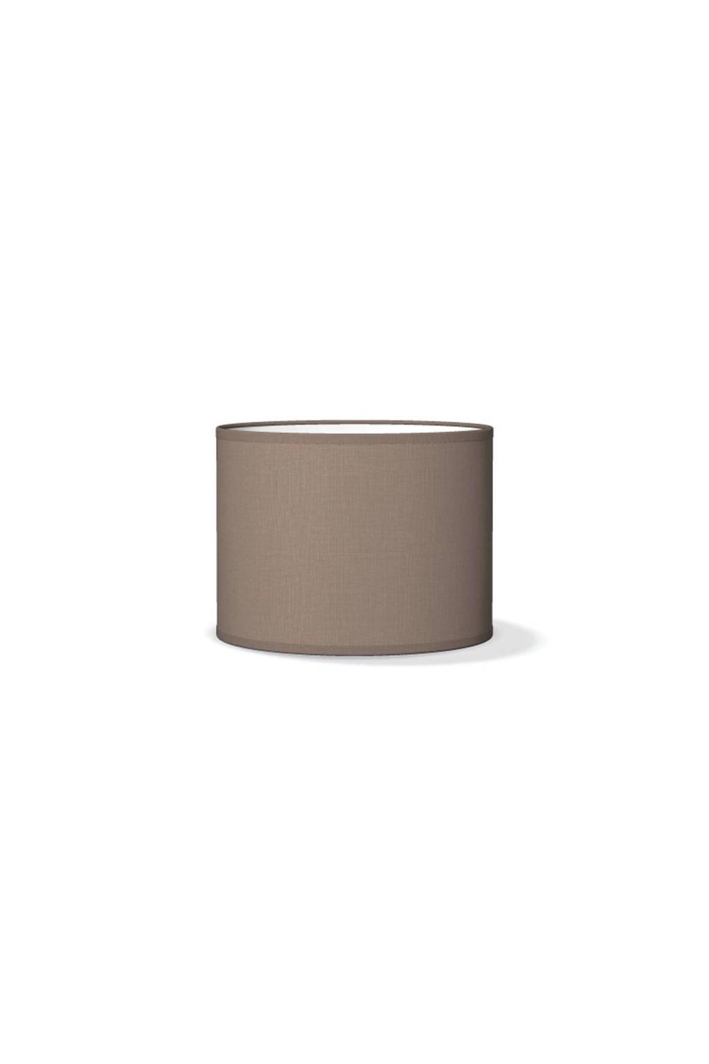 home sweet home lampenkap  (Ø 25 cm), Bruin/grijs