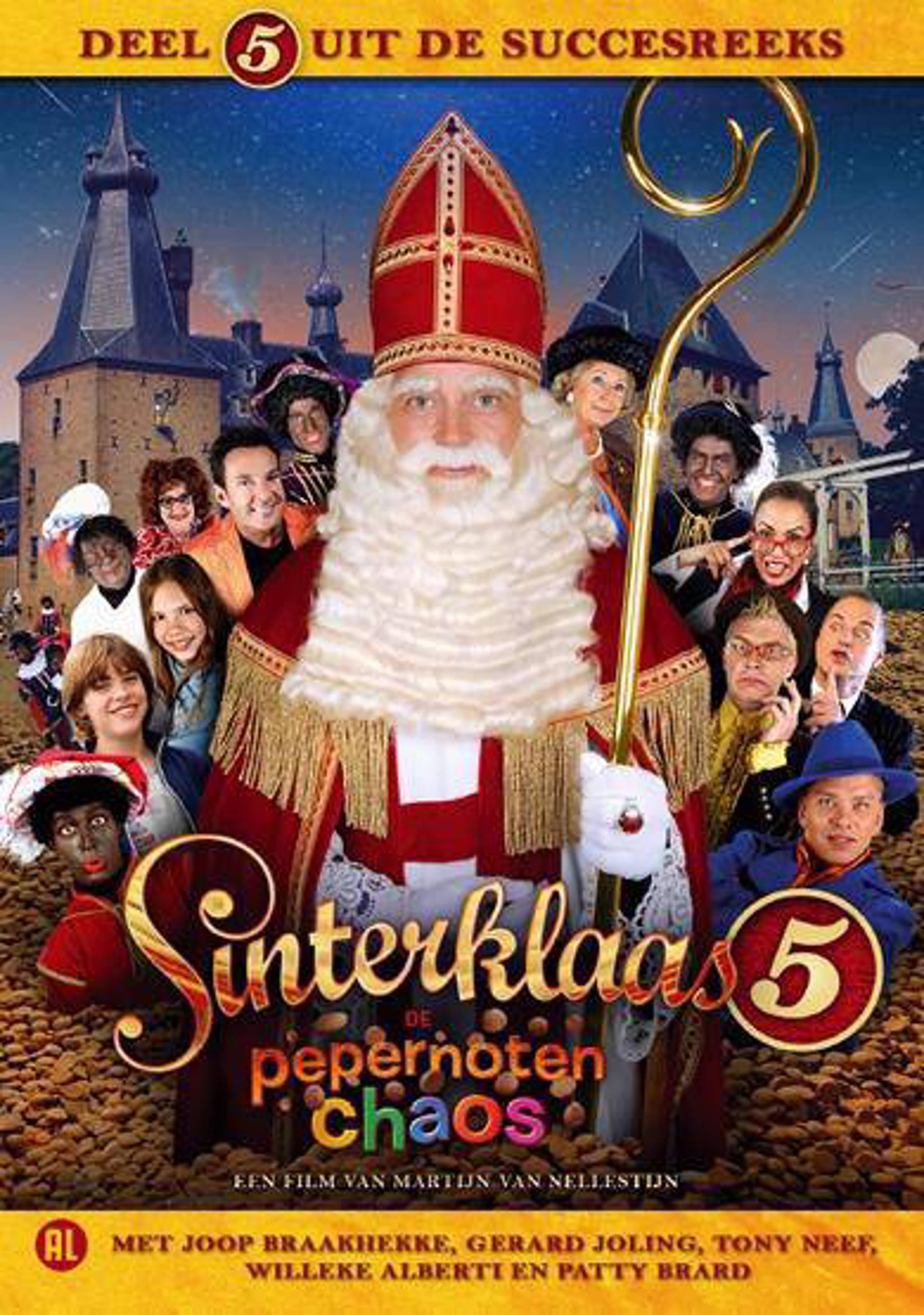 Zitzak Gerard Joling.Sinterklaas 5 De Pepernoten Chaos Dvd Wehkamp