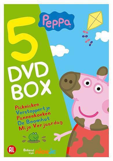 Peppa Pig Pannenkoeken (DVD)   wehkamp