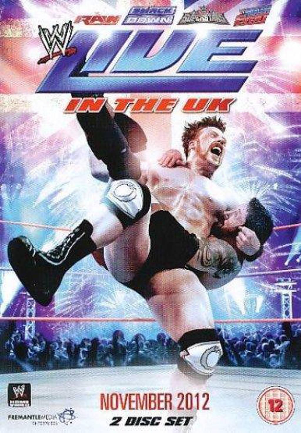 WWE - Live In The Uk - November 2012 (DVD)
