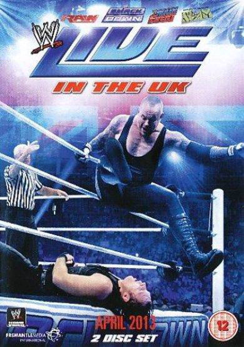 WWE - Live In The Uk - April 2013 (DVD)