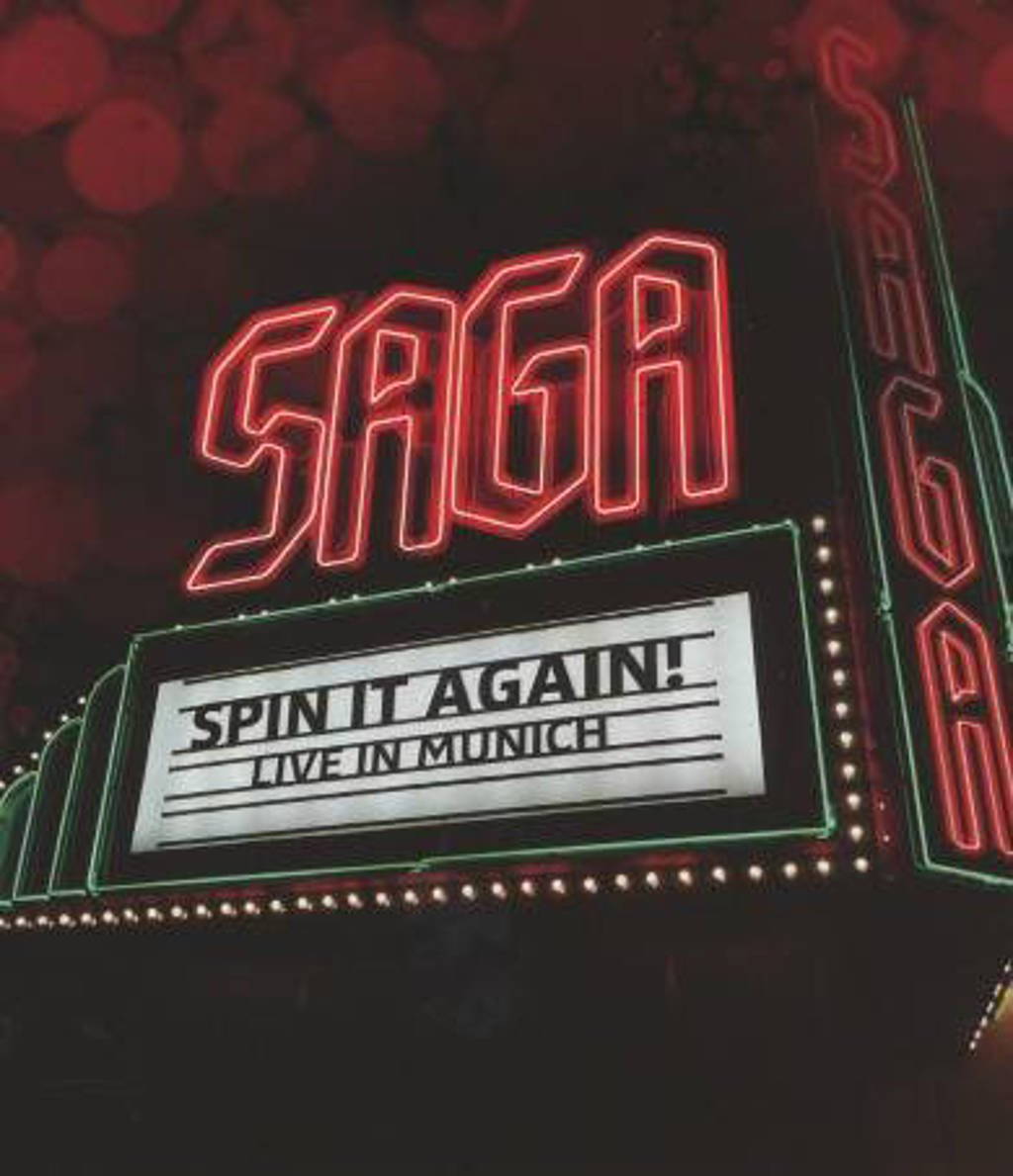 Saga - Spin It Again - Live In.. (Blu-ray)