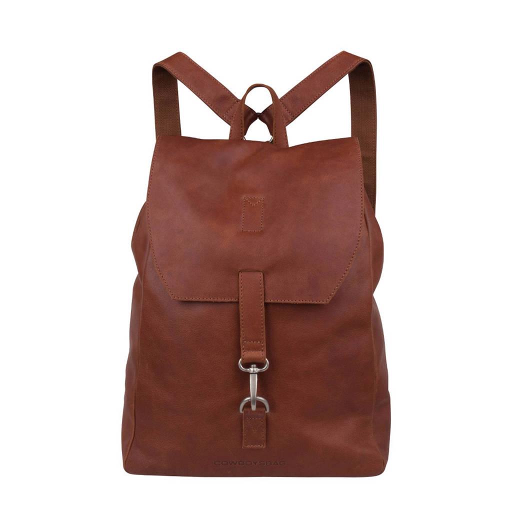Cowboysbag  15,6 inch leren rugzak Tamarac, 300 COGNAC