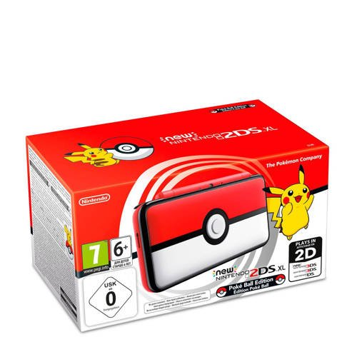 Nintendo 2DS XL Pokéball edition kopen