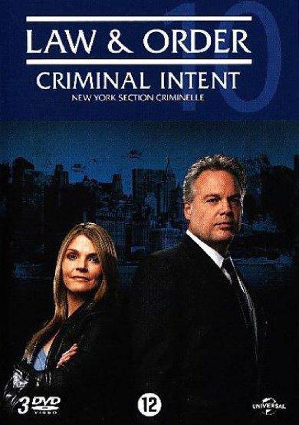 Law & order C.I. - Seizoen 10 (DVD)