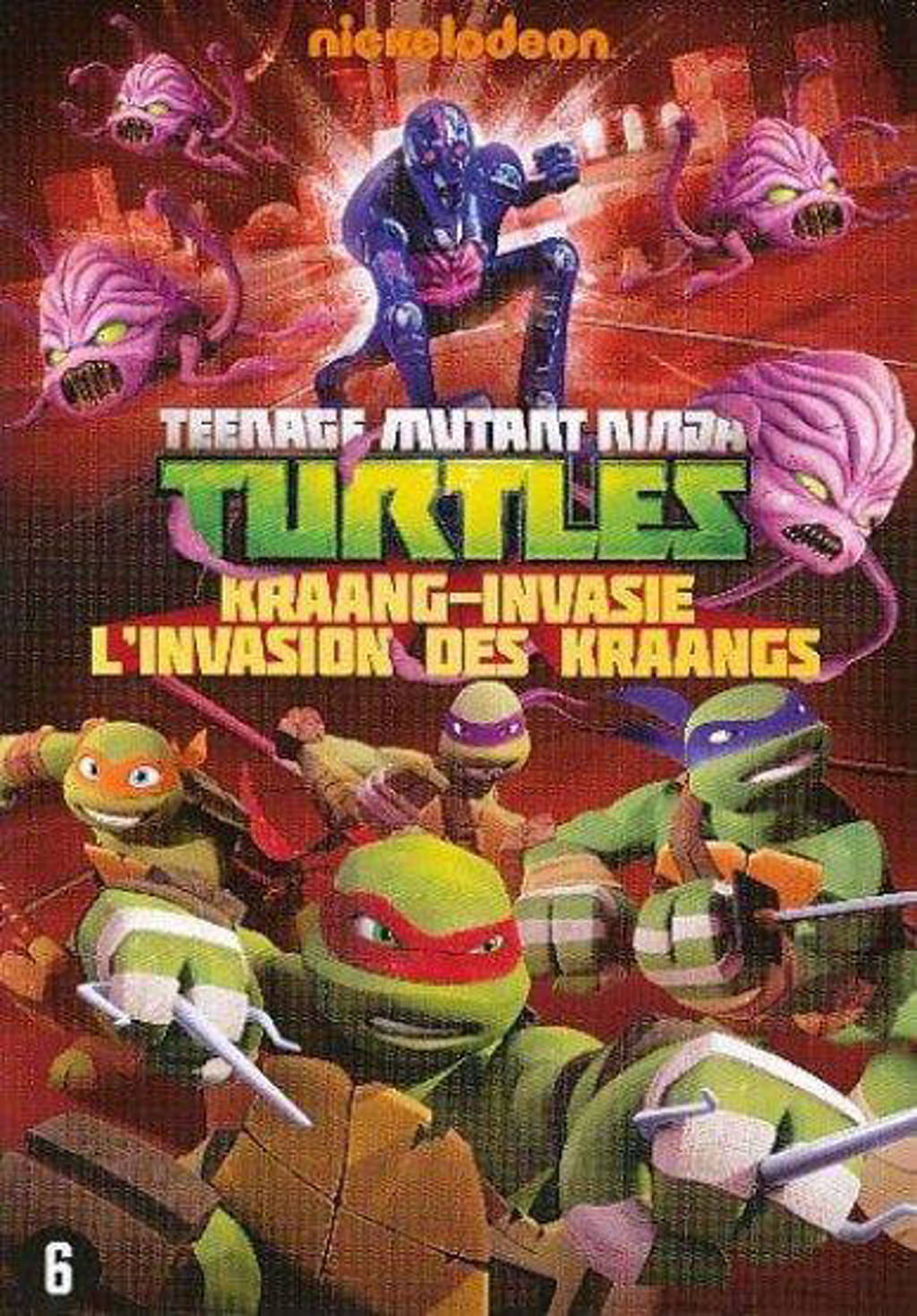 Teenage mutant ninja turtles - Kraang invasion (DVD)