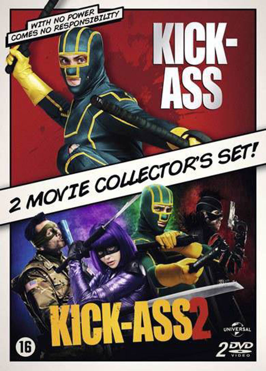 Kick-ass 1 & 2 (DVD)