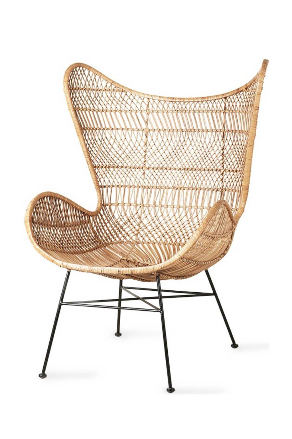 HKliving Rotan Egg fauteuil Bohemian, Naturel (bohemian)