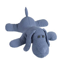 Baby's Only Cloud hond indigo knuffel 40 cm, Indigo