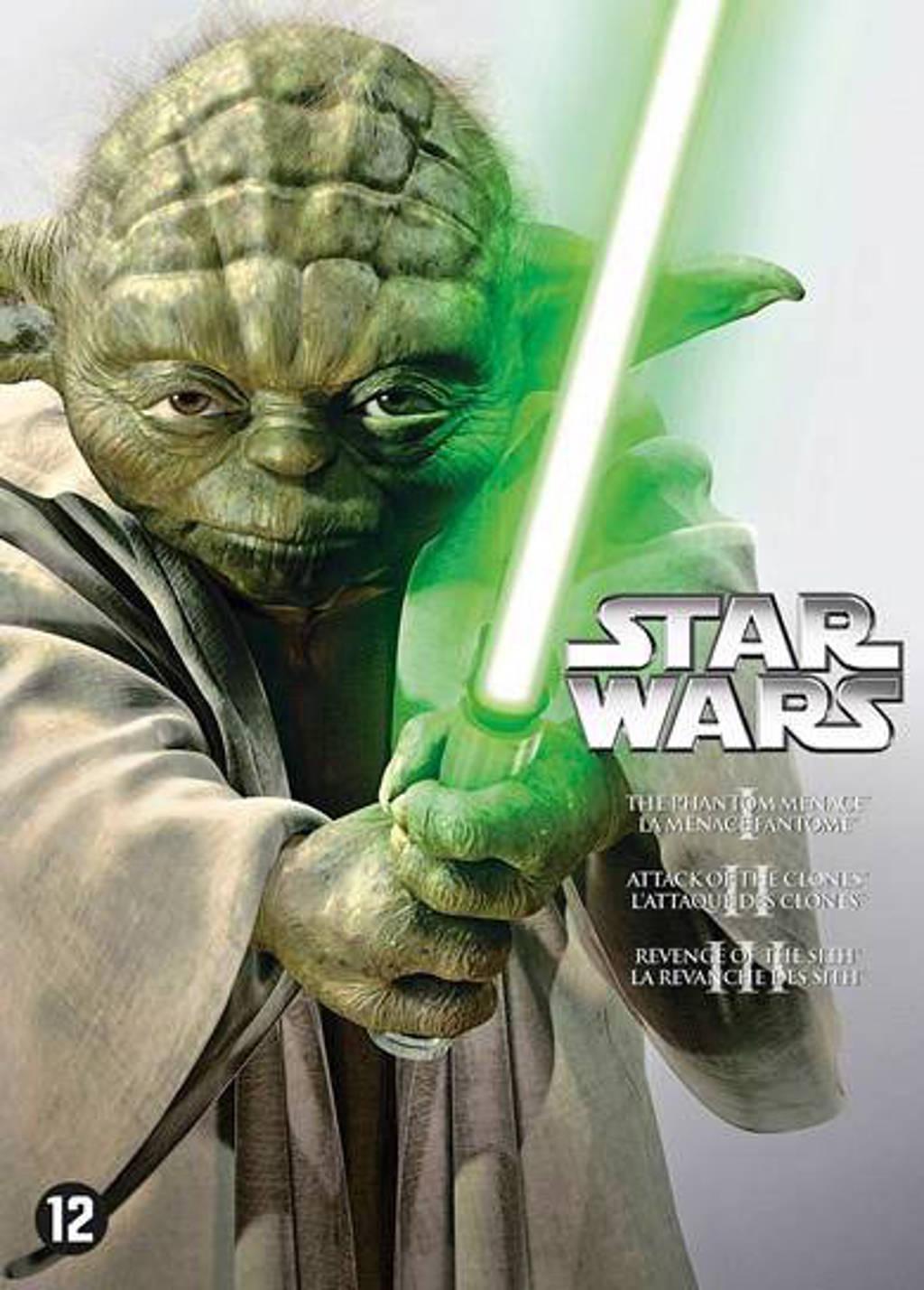 Star wars - Episode 1-3 (DVD)