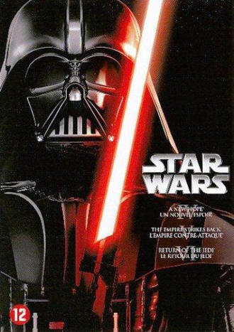 Star wars orginal trilogy (DVD)