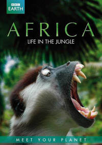 BBC earth - Africa life in the jungle (DVD)