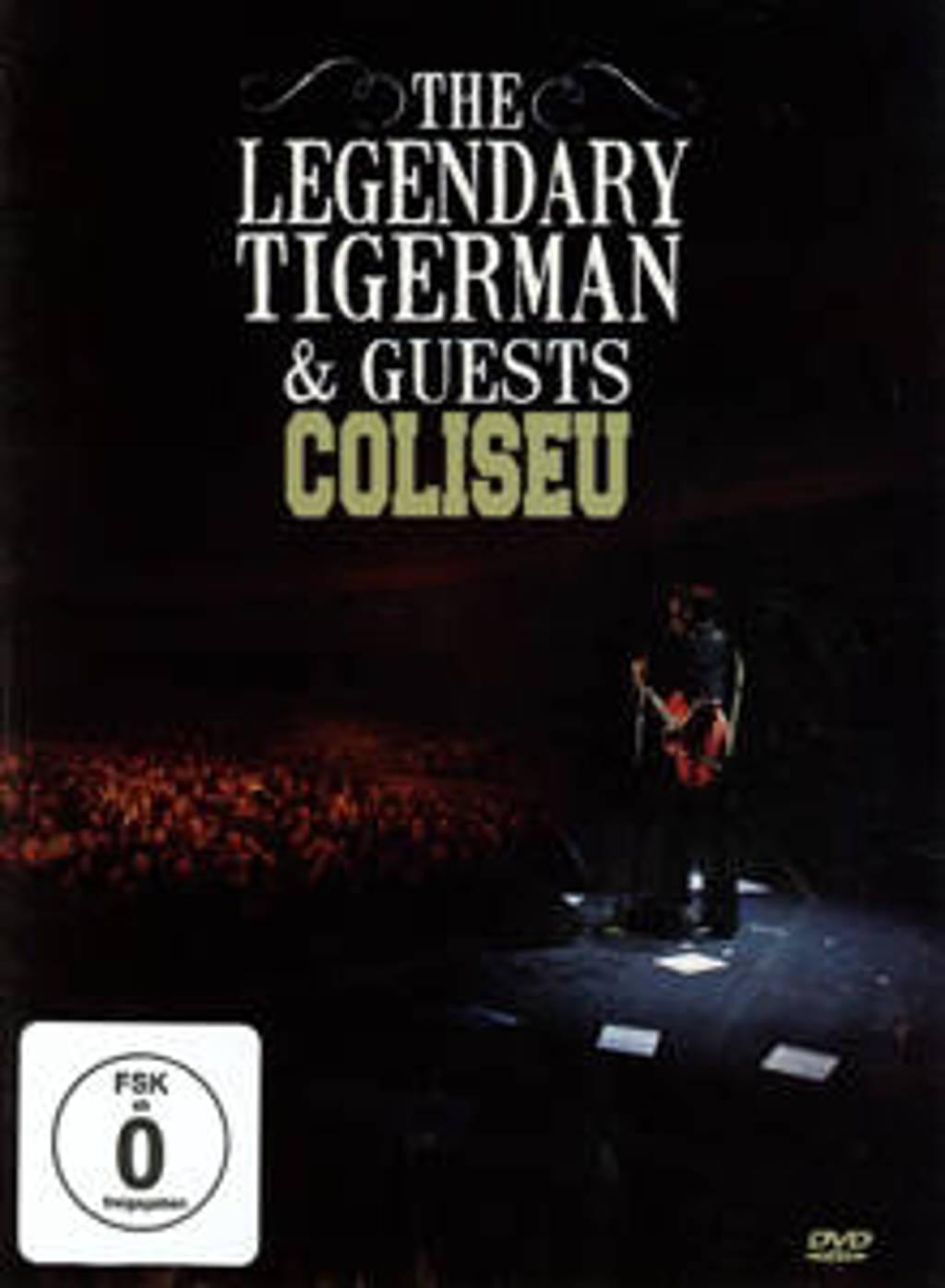 The Legendary Tigerman - Coliseu (DVD)
