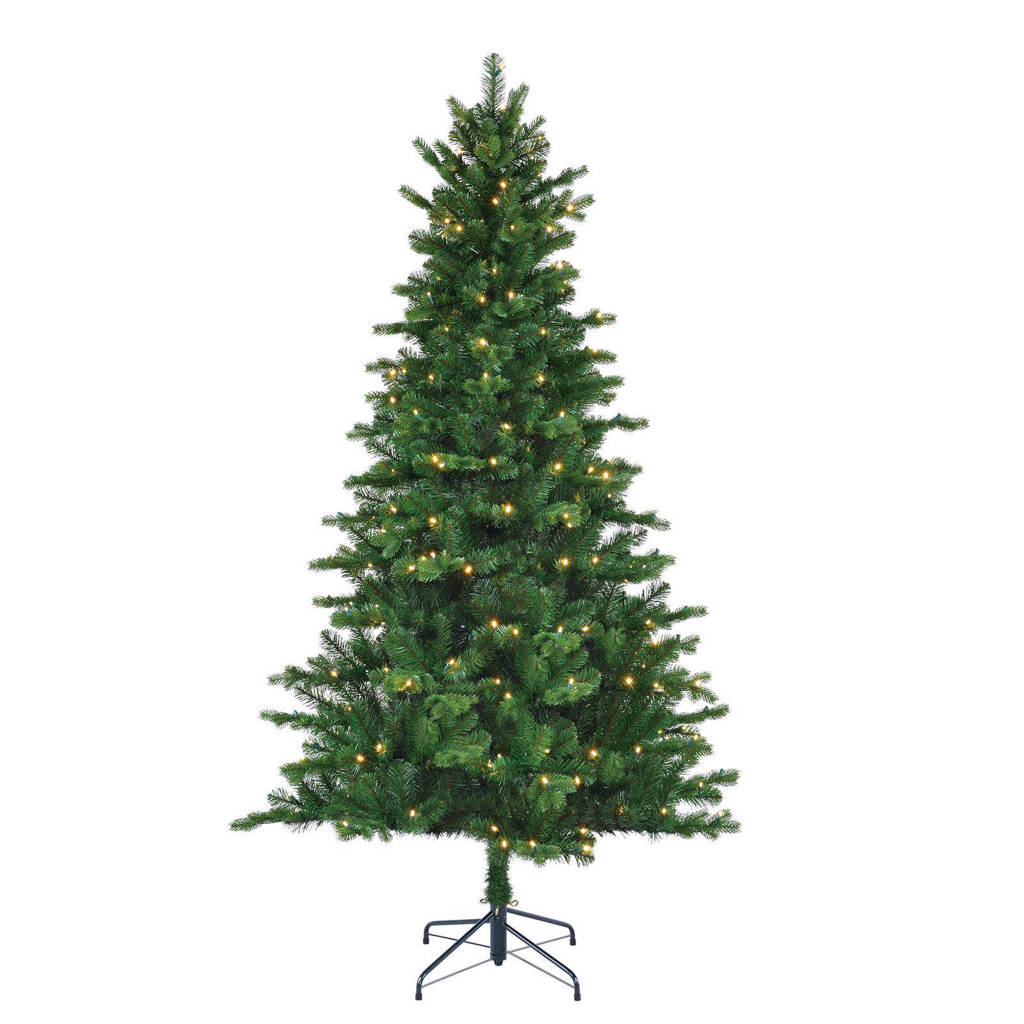 Black Box Trees verlichte kerstboom Milton (h155 x ø94 cm), Warm wit