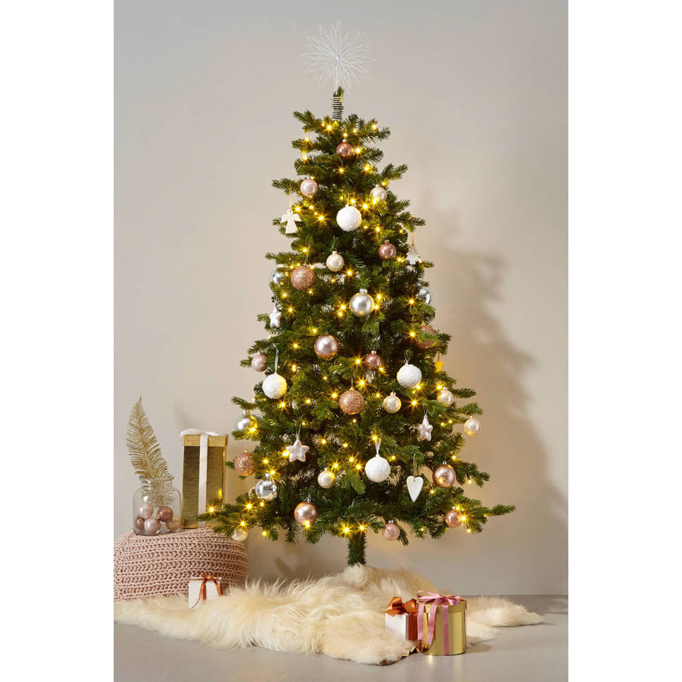 Black Box verlichte kerstboom Milton (h185 x ø112 cm) | wehkamp