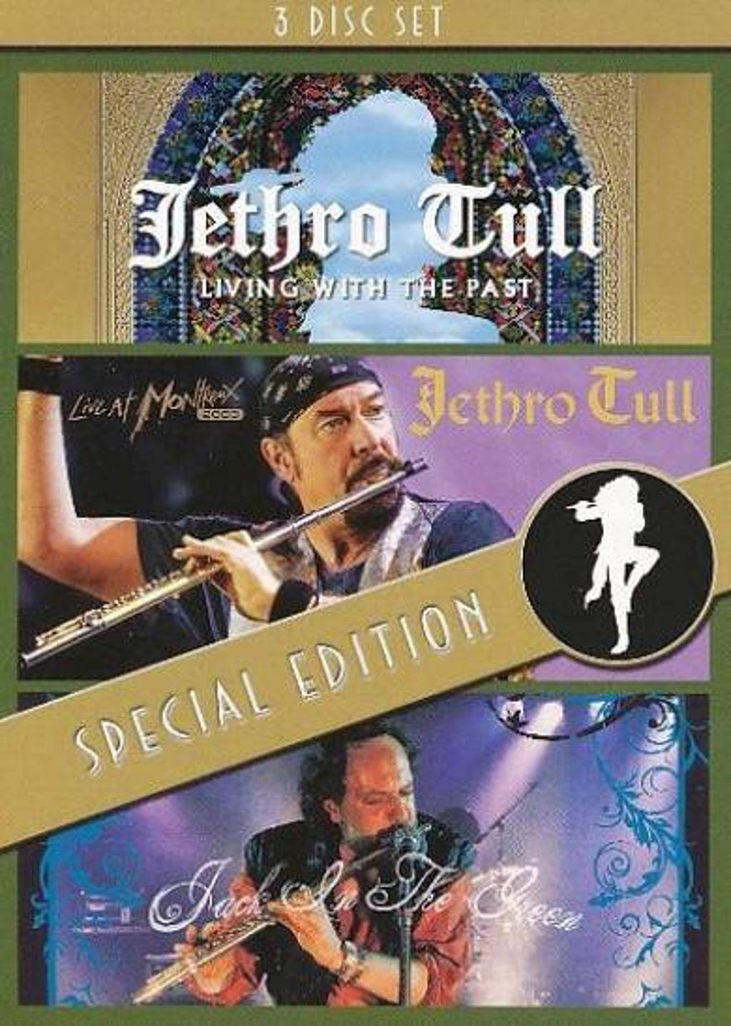 Jethro Tull - Jack In Green/Montreux/Living Past (DVD)