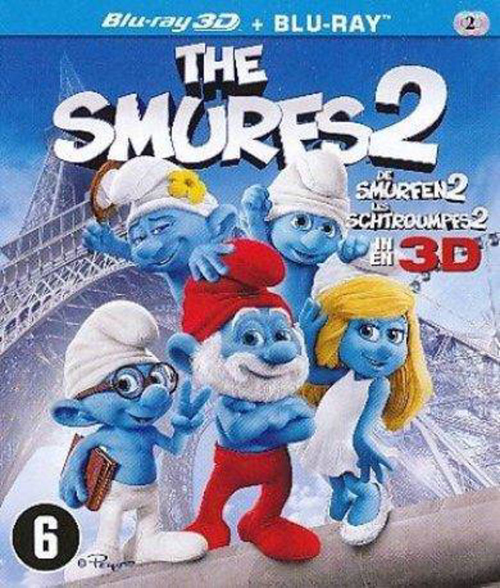 De smurfen 2 (2D + 3D) (Blu-ray)