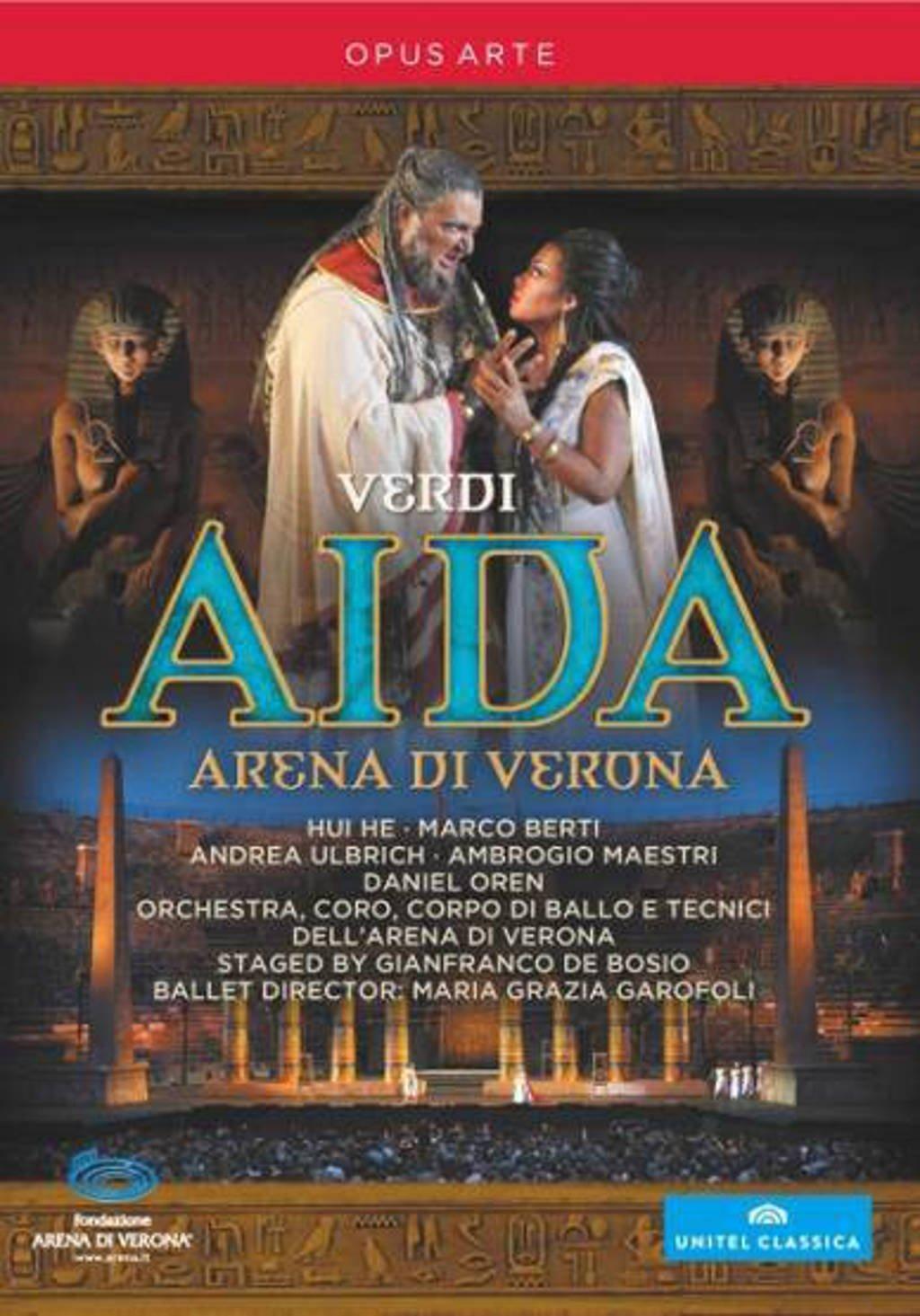 Orchestra E Coro Dell Arena Di Vero - Aida (DVD)