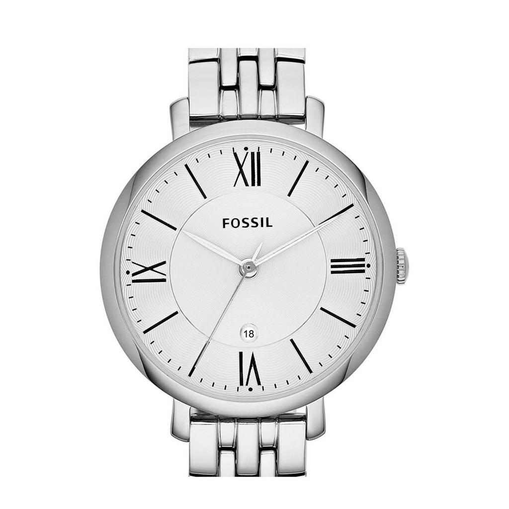 Fossil Jacqueline Dames Horloge ES3433, Zilver