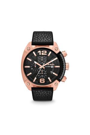 horloge Overflow DZ4297 zwart