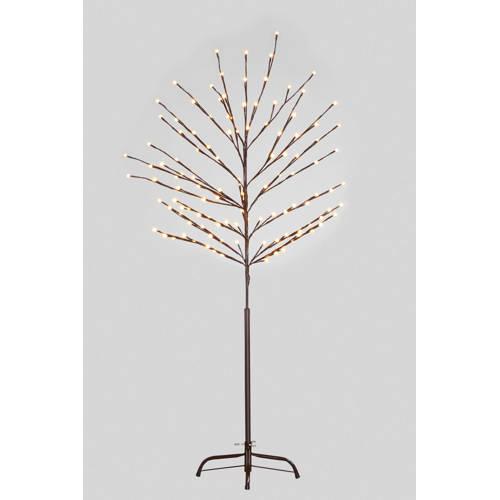 LED-lichtjesboom voor buiten bruin 150 cm, 120-l.